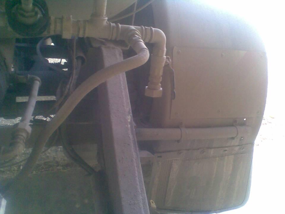 Special Sulphur tank